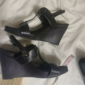 Wedge Sandals Shoes Open Toe
